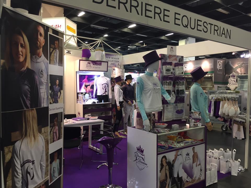 Derriere Equestrian - equine riding underwear, rider padded